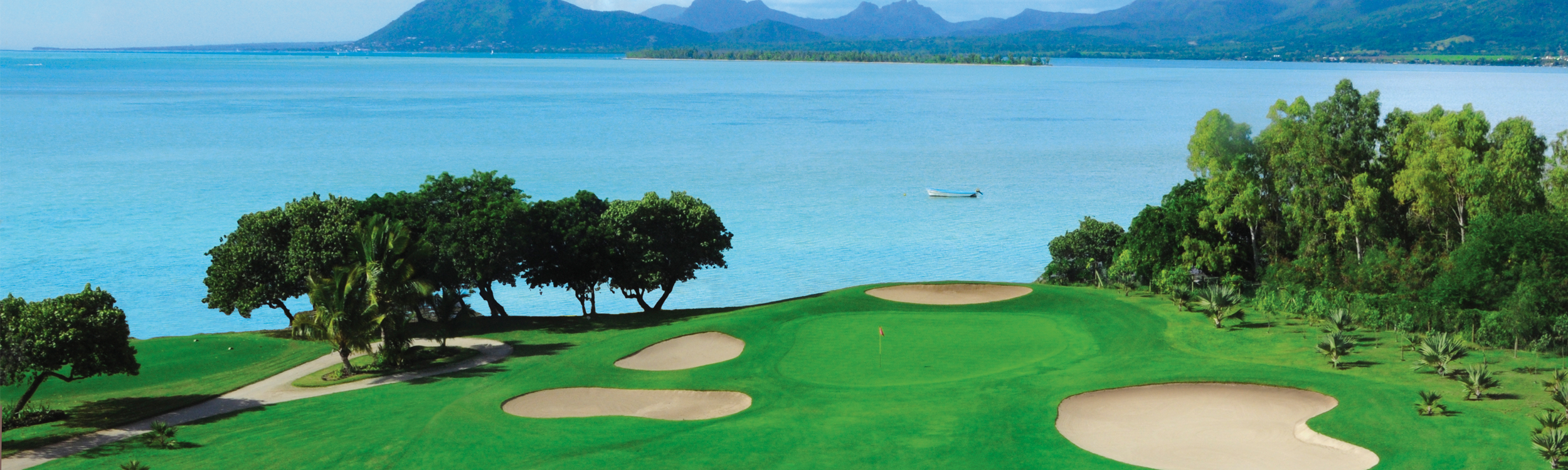 Golfanlage im Beachcomber Resort auf Mauritius